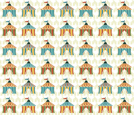 circus tents fabric by scrummy on Spoonflower - custom fabric