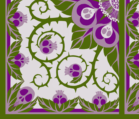 Small Modular Nightshade fabric by ceanirminger on Spoonflower - custom fabric