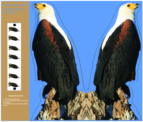 Eagle fabric by corinnevail on Spoonflower - custom fabric