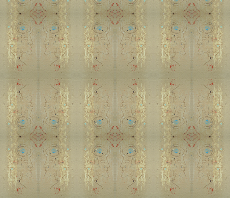 Our Lady of Place Blanche fabric by susaninparis on Spoonflower - custom fabric