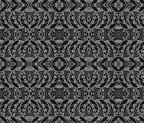 Dark & Light fabric by relative_of_otis on Spoonflower - custom fabric