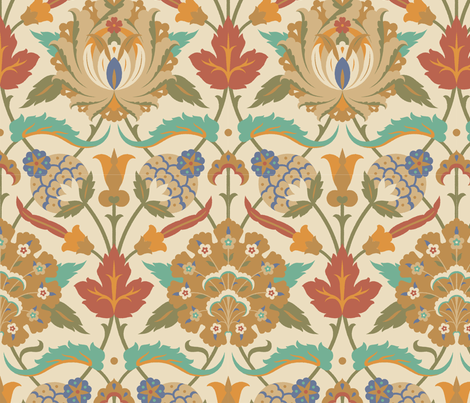 Serpentine 836a fabric by muhlenkott on Spoonflower - custom fabric