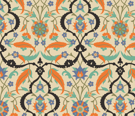 Serpentine 837a fabric by muhlenkott on Spoonflower - custom fabric