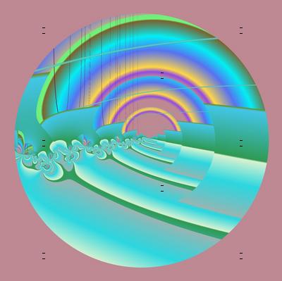 Aurora Borealis over Ocean