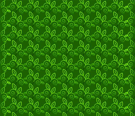 floral1 fabric by dzine_kreative on Spoonflower - custom fabric