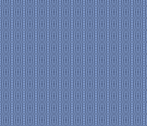Blue Abstract 3 S fabric by animotaxis on Spoonflower - custom fabric