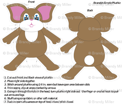 Brandy's Simple Plushie