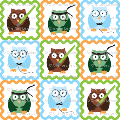 Geeky Owls