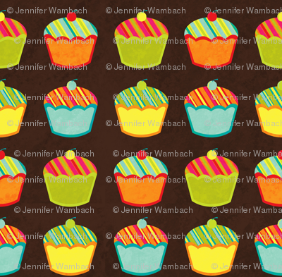 Cupcake Stripe (small)