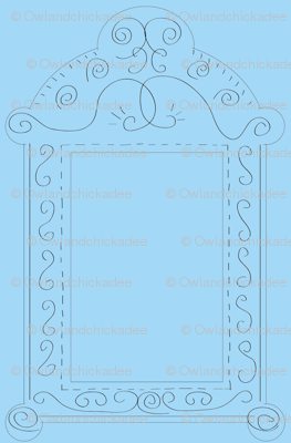 Frames - Blue