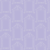 Frames - Lavender and White