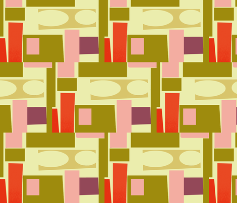 Beams fabric by boris_thumbkin on Spoonflower - custom fabric