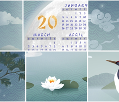 Love, Luck & Happiness Calendar