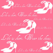 Wear the Shoes Wall Decal