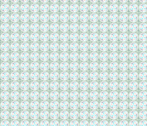Spinning Wheel S-FF-102B2 fabric by modernprintcraft on Spoonflower - custom fabric
