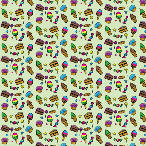 Pattern10 fabric by klowe on Spoonflower - custom fabric