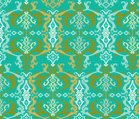 Brocade S-FF-301 fabric by modernprintcraft on Spoonflower - custom fabric