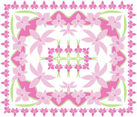 Rrrrrrrrrrcooktown_orchid_4_colour_quilt_by_rhonda_w_shop_preview