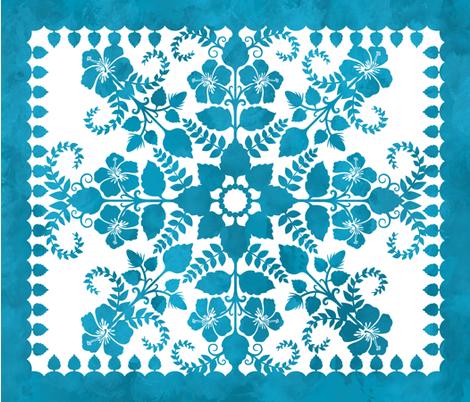 Akahai Quilt fabric by jennartdesigns on Spoonflower - custom fabric