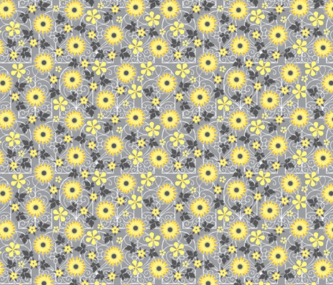 Always Sunny fabric by jennartdesigns on Spoonflower - custom fabric