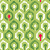 Holiday Honeycomb Ikat