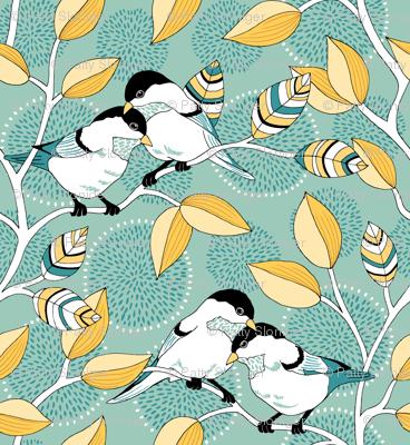 Love Birds - Custom Color Palette