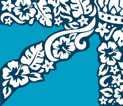 Royal Hawaiian fabric by minimiel on Spoonflower - custom fabric