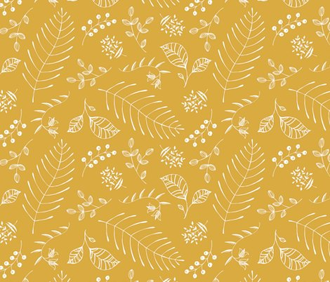 Rrfronds___fauna_wide_rev_mustard2_shop_preview