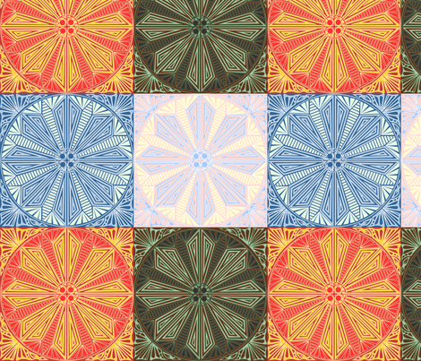 ©2011 The_4_Elements fabric by glimmericks on Spoonflower - custom fabric