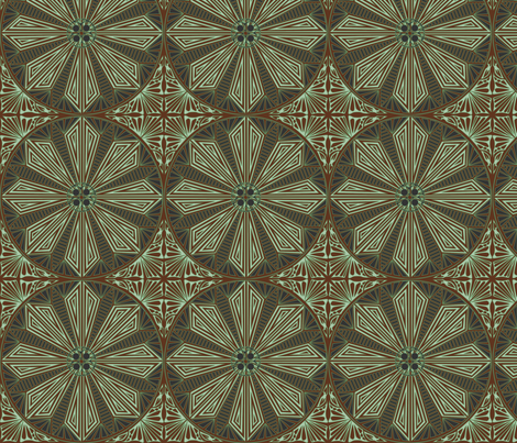 ©2011 Circle_of_Earth fabric by glimmericks on Spoonflower - custom fabric
