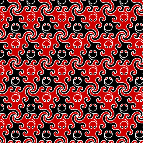 slant-eyed nonapod 2 fabric by sef on Spoonflower - custom fabric