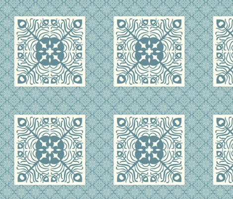 Rrpeacock_feather_butterfly_hawaiian_quilt_square2_marine-blue_aqua_shop_preview