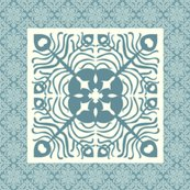 Rrpeacock_feather_butterfly_hawaiian_quilt_square2_marine-blue_aqua_shop_thumb