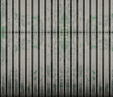 Corrugated Steel 2 L fabric by animotaxis on Spoonflower - custom fabric