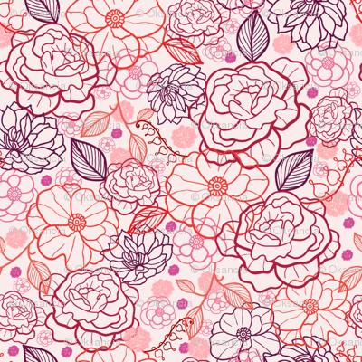 Pink Wedding Garden