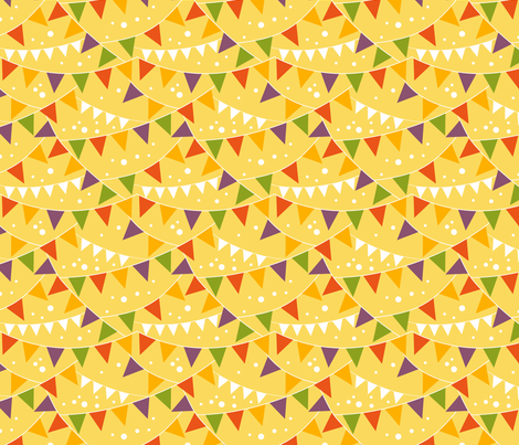 Celebration Flags fabric by oksancia on Spoonflower - custom fabric