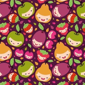 Happy Fruit Children