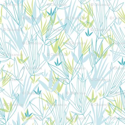 Line Art Bamboo