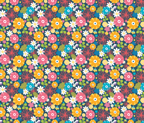 Vibrant Kimono fabric by oksancia on Spoonflower - custom fabric