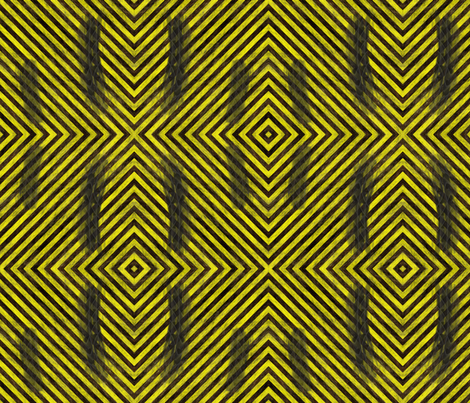 Hazard Stripes S fabric by animotaxis on Spoonflower - custom fabric