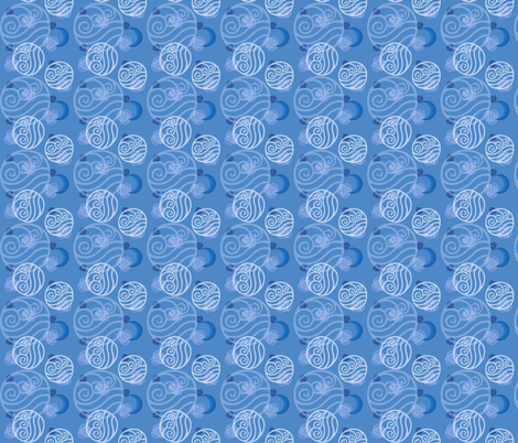 Avatar: Water Tribe (small) fabric by kellyw on Spoonflower - custom fabric