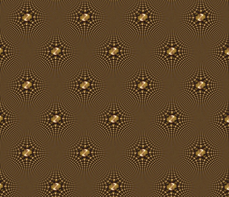 Golden Sound fabric by angelgreen on Spoonflower - custom fabric