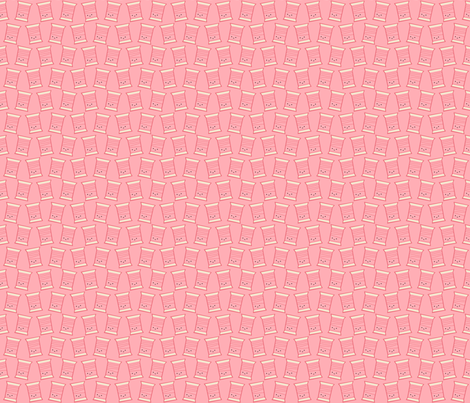 Craftiness! Pink Thread fabric by wildolive on Spoonflower - custom fabric