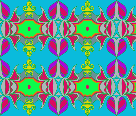 Queen of the Grapes fabric by tangerine_sunday on Spoonflower - custom fabric