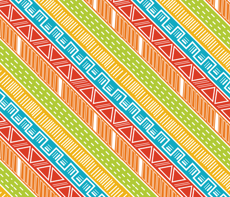 Running Wild fabric by wildnotions on Spoonflower - custom fabric