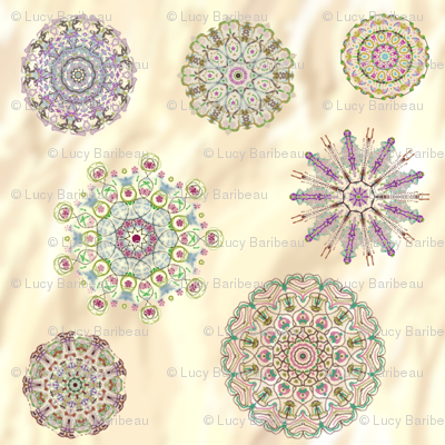 relax with mandalas