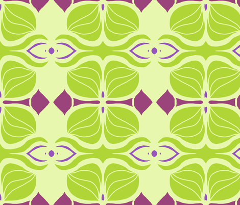 Spring Deco fabric by paula_prints on Spoonflower - custom fabric