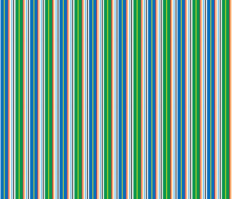 CIRCUS STRIPES fabric by gsonge on Spoonflower - custom fabric