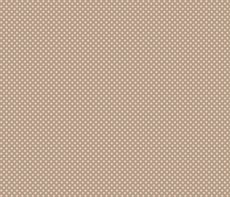 pink_brown_polka fabric by cherryandcinnamon on Spoonflower - custom fabric