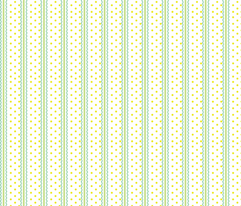 Baby Woods_Stripes and Dots fabric by dzynchik on Spoonflower - custom fabric